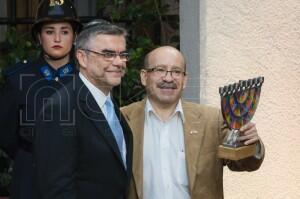 Celebración Janucá Palacio de La Moneda 2016